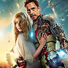 "Iron Man 3 - ""Iron Man & Pepper Potts"" by Britnasty"