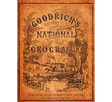 A National Geography, for Schools … with a Globe Map on a New Plan (New York Huntington and Savage, 1845) Photographic Print