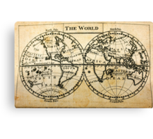 A New Geographical Pocket Companion Comprehending a Description of the Habitable World (New York, 1795) Canvas Print