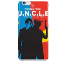 The Man From U.N.C.L.E iPhone Case/Skin