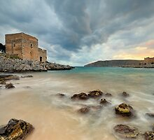 Seascape in Mani, Greece by nickthegreek82