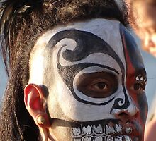 Aztec dancer - Bailarín Azteca by Bernhard Matejka