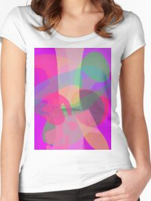 Tree and Fruit Women's Fitted Scoop T-Shirt