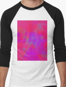 Rose at Night Men's Baseball ¾ T-Shirt