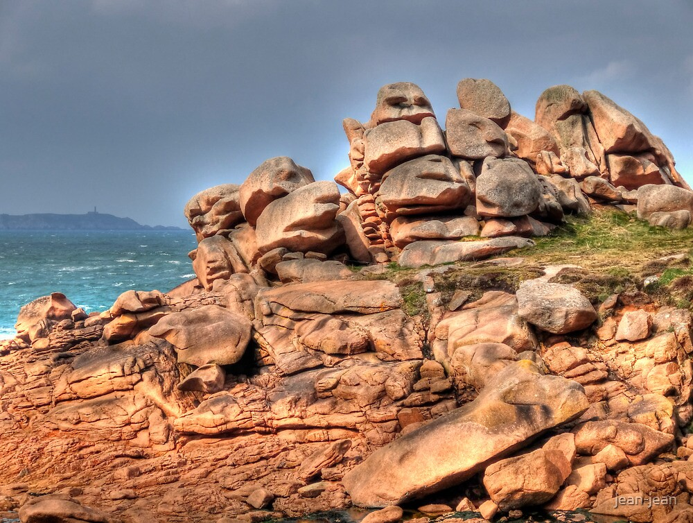 The pink granite coast by jean-jean