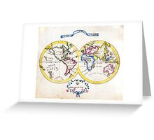 am t 30 cook world Greeting Card