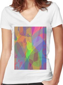 Sunlight in the Room Women's Fitted V-Neck T-Shirt