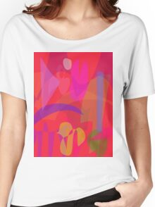 Red Passion in the Garden Women's Relaxed Fit T-Shirt