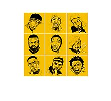 WU-TANG BUNCH Photographic Print