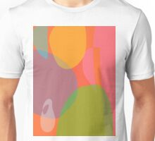 Little Ghost with an Orange and a Grapefruit Unisex T-Shirt
