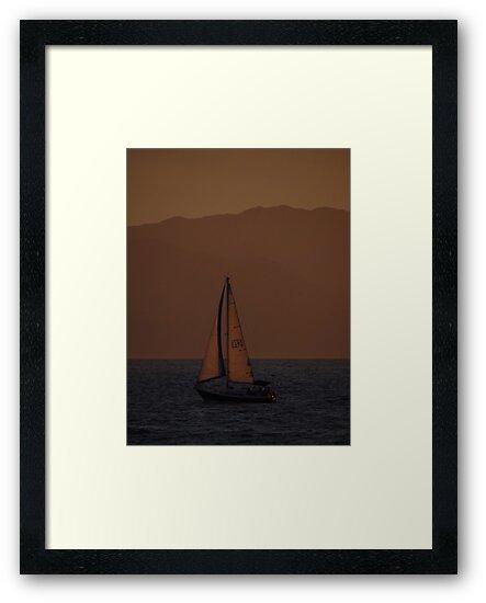 Sunset II - Puesta del Sol by Bernhard Matejka