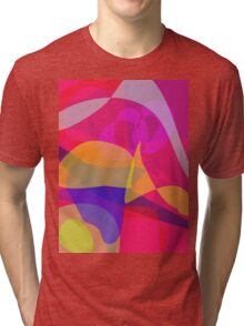 Red Concentration Tri-blend T-Shirt