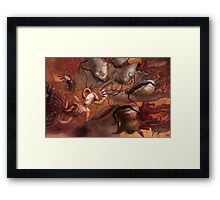 An Echo in the Diffusion Framed Print