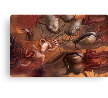 An Echo in the Diffusion Canvas Print