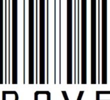 Introvert Barcode Sticker