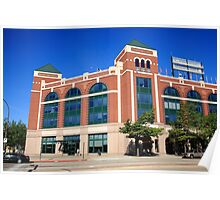 Texas Rangers Ballpark in Arlington Poster