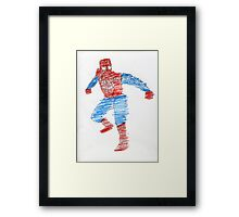 Arachnid Guy Framed Print