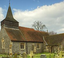 All Saint's Church,Hutton,Essex by VoluntaryRanger