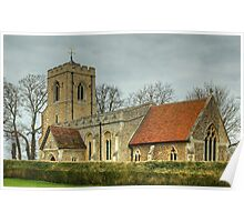 St Michael And All Angels Church Poster