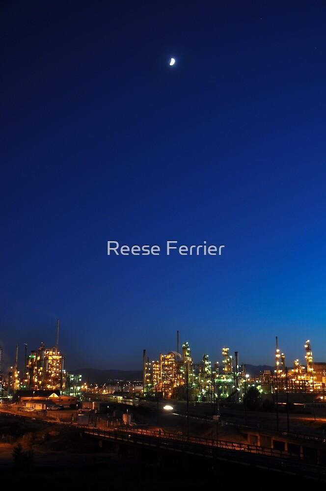 Denver Oil Refinery by Reese Ferrier