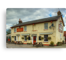 The Dog And Partridge,Great Leighs Canvas Print