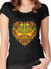 Love for Cannabis Women's Fitted Scoop T-Shirt