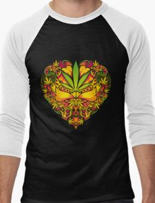 Love for Cannabis Men's Baseball ¾ T-Shirt
