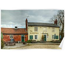 The Windmill,Chatham Green Poster