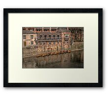 Boathouse Framed Print