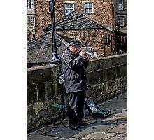 Durham Busking Photographic Print