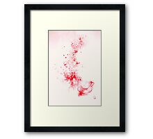 a cup of spring  * special order prints: tokikoandersonart@gmail.com Framed Print