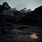Base Camp In Nepal by Johan nordholm