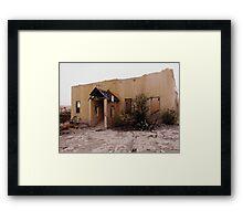 Adobe Ruin Framed Print