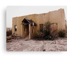 Adobe Ruin Canvas Print
