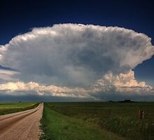 Storm clouds over Saskatchewan  by pictureguy