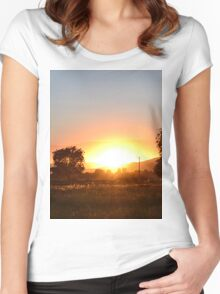 Western Hills Women's Fitted Scoop T-Shirt
