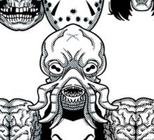 Montser Skull Sticker