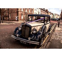 HDR Rolls Royce #1 Photographic Print