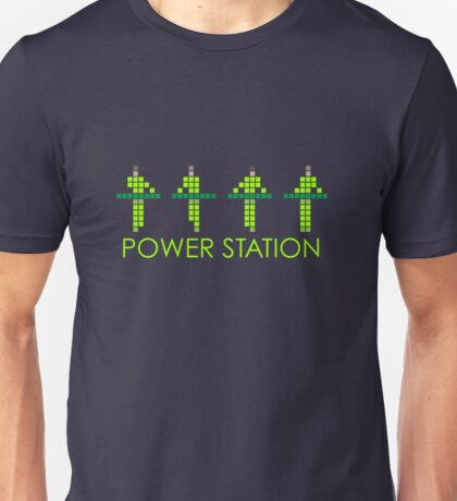 KRAFTWERK | POWER STATION | NEON Unisex T-Shirt