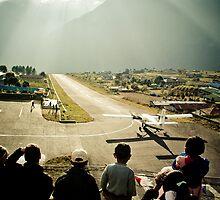 Lukla Airport, Nepal by Johan nordholm