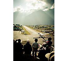 Lukla Airport, Nepal Photographic Print