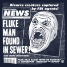 Freaky World News: Fluke Man by Gimetzco
