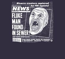 Freaky World News: Fluke Man Unisex T-Shirt