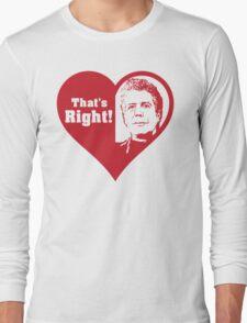 Bourdain Love Long Sleeve T-Shirt