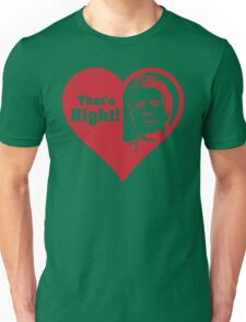 Bourdain Love Unisex T-Shirt