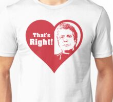 Bourdain Love Unisex T-Shirt