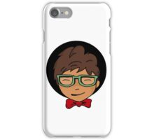 nerd boy iPhone Case/Skin
