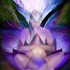 Third Eye Chakra Goddess by Carol  Cavalaris
