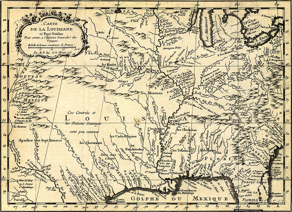 Bellin's History of the Louisiana Territory (1757) by MotionAge Media