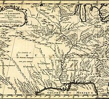 Bellin's History of the Louisiana Territory (1757) by Adam Asar